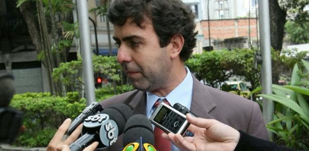 Deputado estadual Marcelo Freixo (PSOL) durante entrevista - Ale Silva/Futura Press