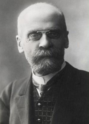 O sociólogo francês Émile Durkeim - Reprodução