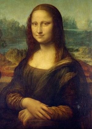 """O quadro """"Mona Lisa"""", de Leonardo Da Vinci - Reprodução"""