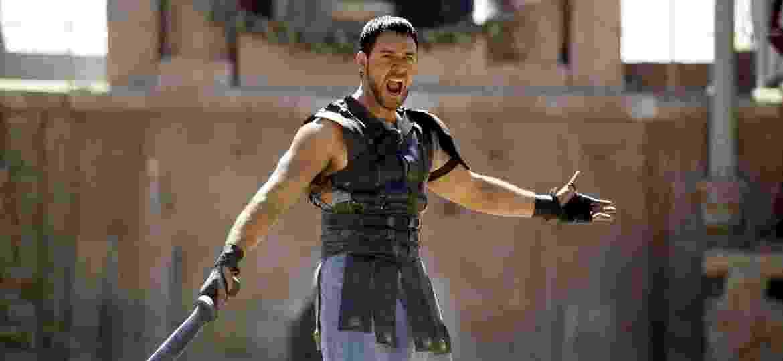 """Russel Crowe vive Maximus, general romano que foi escravizado e se tornou um gladiador, no filme """"Gladiador"""" - Reuters"""