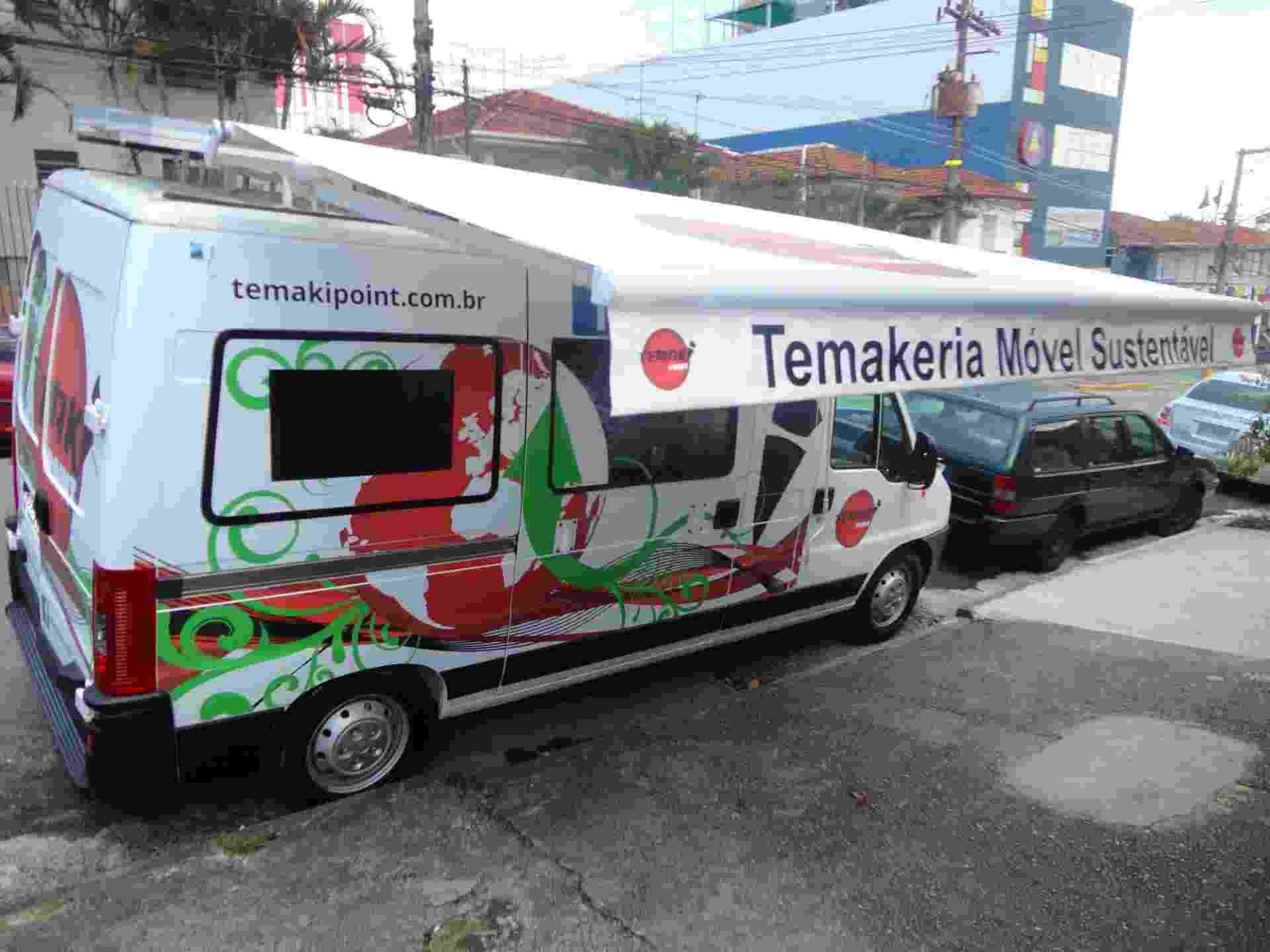 Temakeria móvel Temaki Point, em São Paulo (SP) - Divulgação
