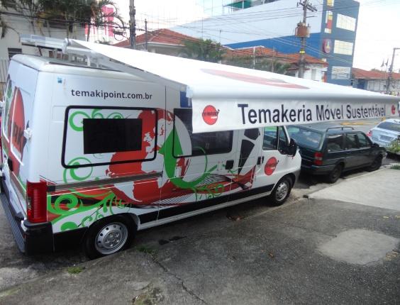 Temakeria móvel Temaki Point, em São Paulo (SP)