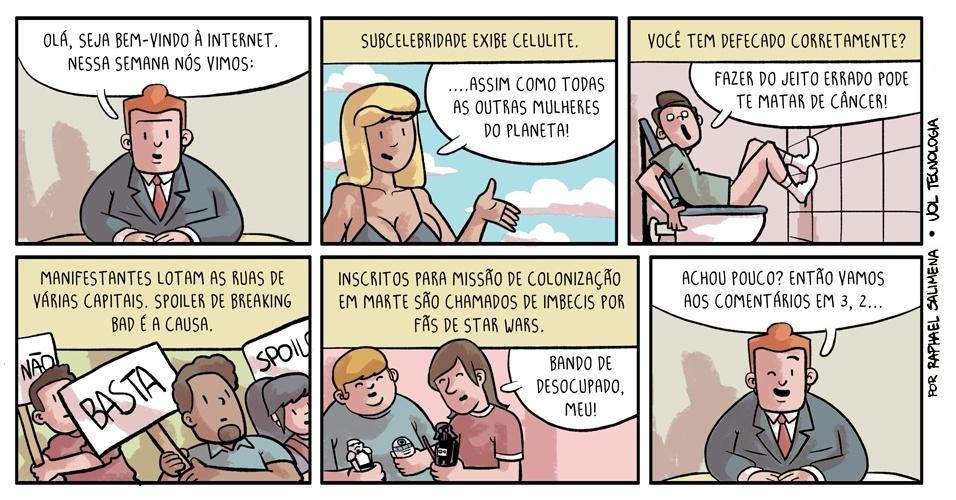 """""""A semana em fatos"""" - 16/08/2013"""
