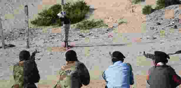 Fuzilamento - Mohamed Abdiwahab/AFP - Mohamed Abdiwahab/AFP