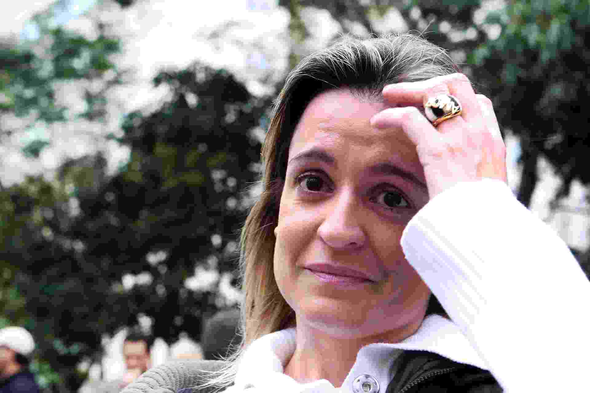 A candidata Juliana Regina Pereira foi para o local errado e perdeu o 11º Exame de Ordem (OAB) cuja primeira fase acontece neste domingo (18) - Aline Arruda/UOL