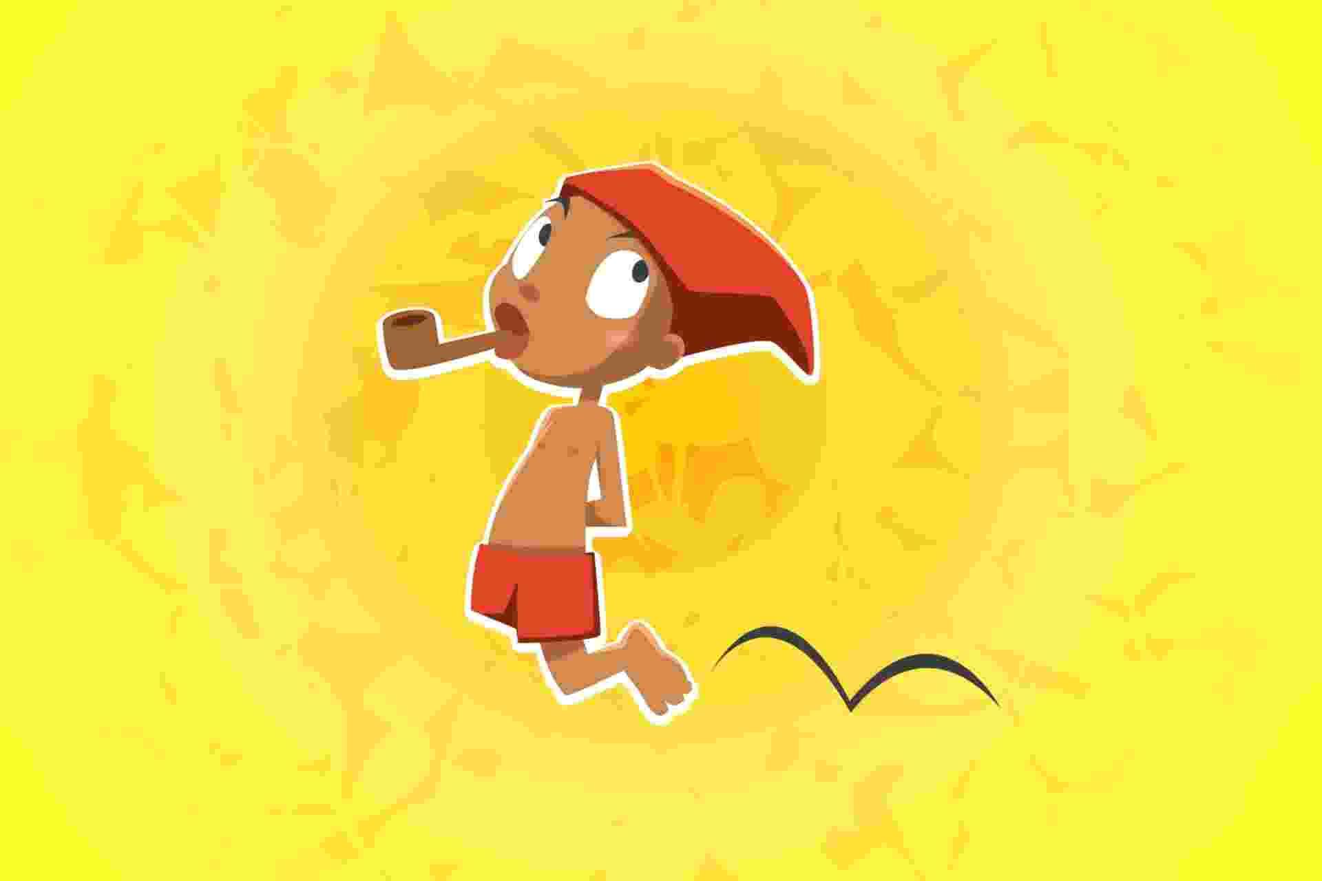 Saci, personagem do folclore - eVison/Arte UOL
