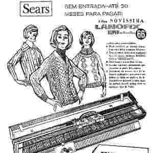 Antigo anúncio da Sears - Reprodução