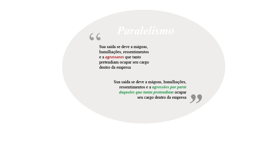 Paralelismo, português