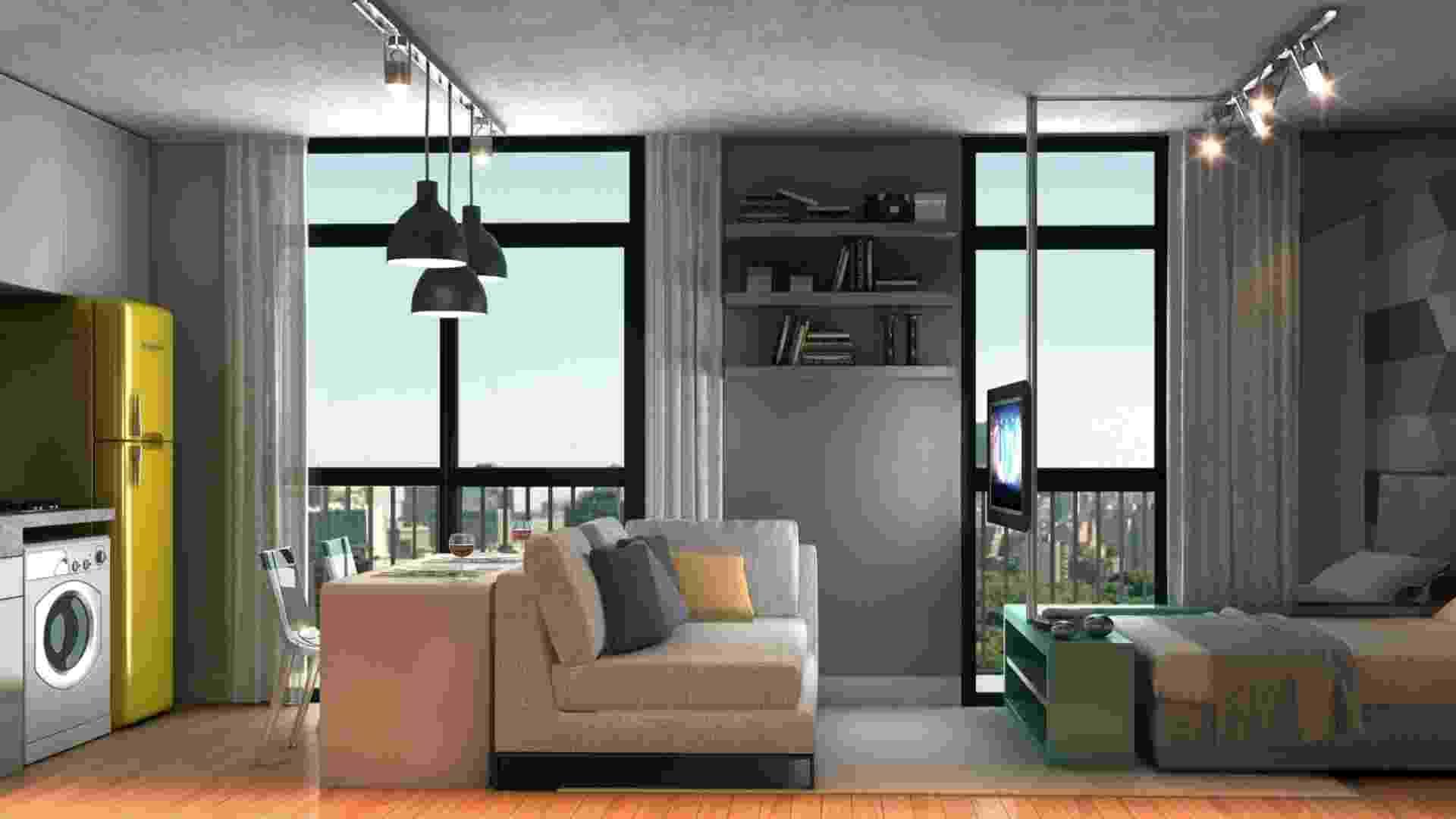 Perspectiva de apartamento da BKO - Divulgação