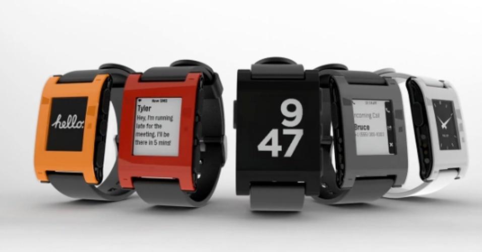 dd64d52ec95 Fotos  Relógios inteligentes prometem substituir funções do ...