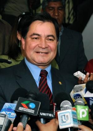 O senador boliviano Roger Pinto, em foto de 21 de março de 2011 - Jorge Bernal/AGP