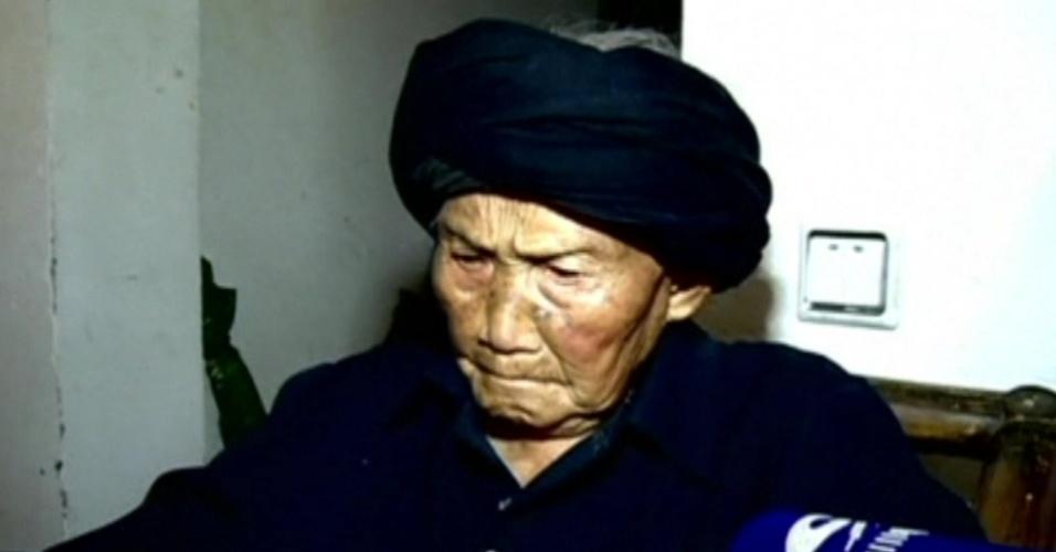 A chinesa Fu Suqing, que completou 116 anos no domingo, quer ser reconhecida como a pessoa mais velha do mundo