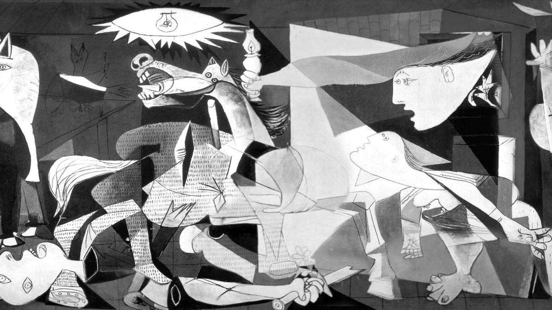 """Guernica"""", grito antibelicista mais famoso do século 20, completa ..."""