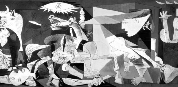 Guernica, de Pablo Picasso - Reprodução