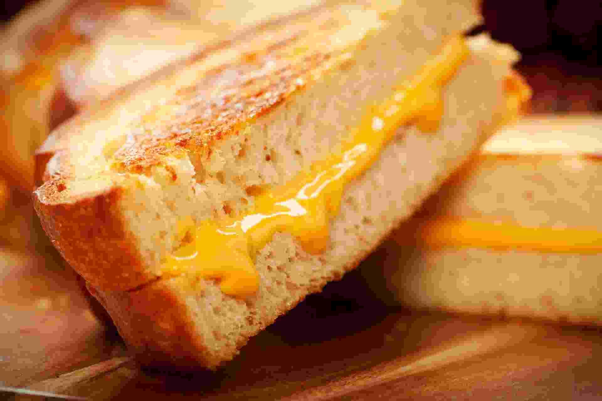 28.ago.2013 - queijo quente perfeito - Getty Images/iStockphoto