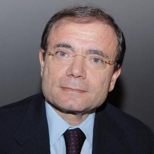 O presidente do grupo de supermercados frances Casino Jean Charles Naouri
