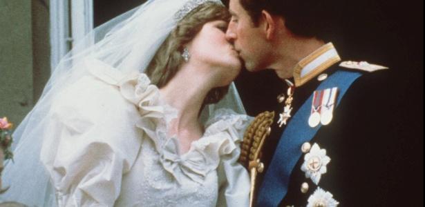 Charles e Diana se casaram em 1981