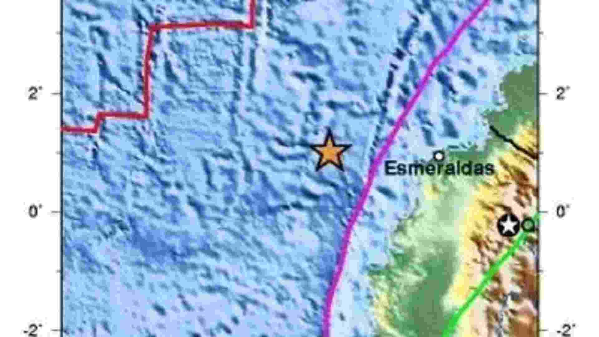 30.ago.2013 - O tremor de magnitude 8,8 atingiu a costa do Equador, perto da fronteira com a Colômbia, em 31 de janeiro de 1906, e matou entre 500 e 1.500 pessoas. O abalo chegou a ser sentido em San Francisco (EUA) e no Japão. - Wikimedia Commons