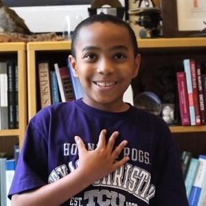 Com apenas 11 anos, Carson Huey-You está no primeiro semestre da Texas Christian University - Reprodução/www.nydailynews.com