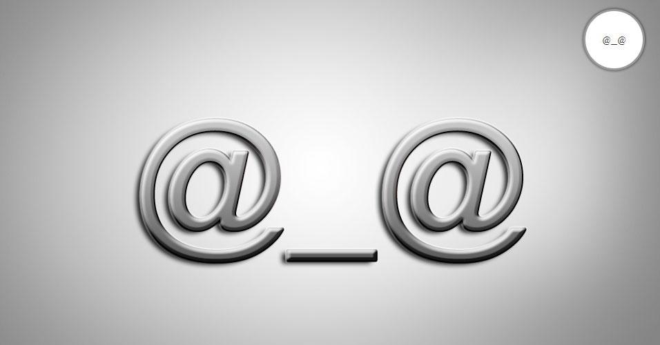O mundo dos emoticons é muito, muito, mais vasto do que apenas os tradicionais sorrisos - :). Mas nem sempre essas combinações inovadoras fazem sentido para todos os usuários. Pensando nisso, o site 'Text Meanings' funciona como um dicionário dos emoticons. O usuário digita a carinha que deseja desvendar e ele traz (em inglês) o significado. Na imagem, o sinal @_@ significa aborrecido, de acordo com a página