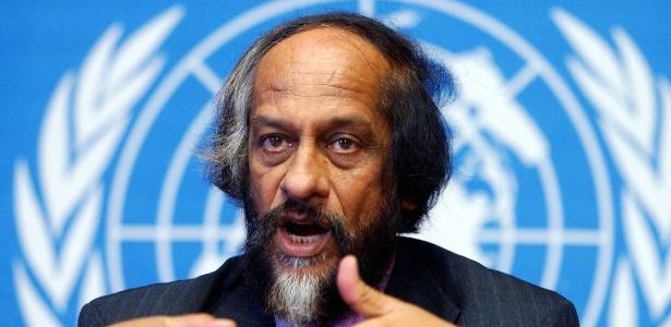 Rajendra Kumar Pachaur recebeu o Nobel da Paz em 2007