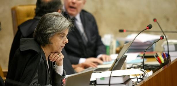 A ministra Cármen Lúcia, que pediu a realização de audiência pública sobre as biografias não autorizadas - Pedro Ladeira/Folhapress