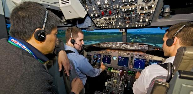 Com o aumento constante na fabricação de aviões, setor necessita de 25 mil novos pilotos por ano - Divulgação/Boeing