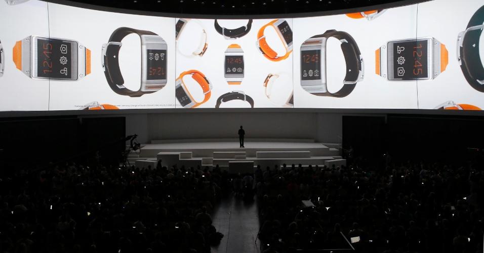 Samsung lança relógio Galaxy Gear, Note 3 e versão 2014 do tablet Note 10.1
