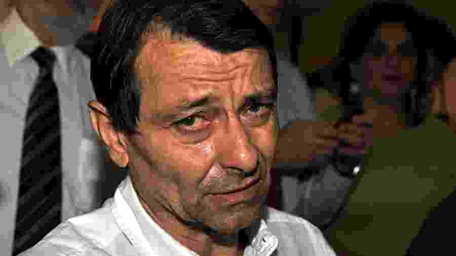 Cesare Battisti, quando estava na penitenciária da Papuda, em Brasília, em 2009 - José Cruz/Agência Brasil