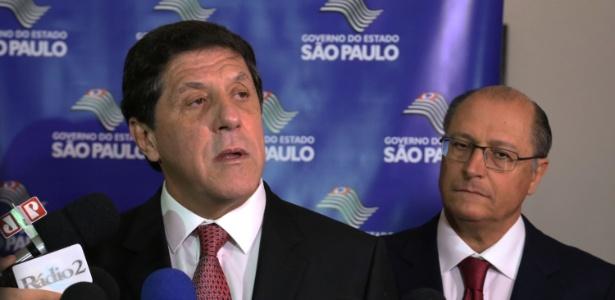 O ex-governador de São Paulo, Geraldo Alckmin, e o médico infectologista David Uip, seu ex-secretário estadual de saúde - Alex Falcão/Futura Press/Estadão Conteúdo