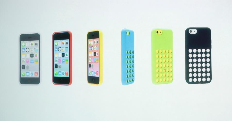 Além do iPhone 5C ter modelos coloridos, os usuários poderão colocar capinhas -- também coloridas -- para mudar o visual do smartphone