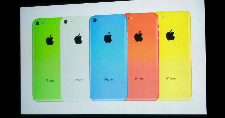 iPhone 5 C promete ser uma opção de baixo custo da Apple e possui diversas cores