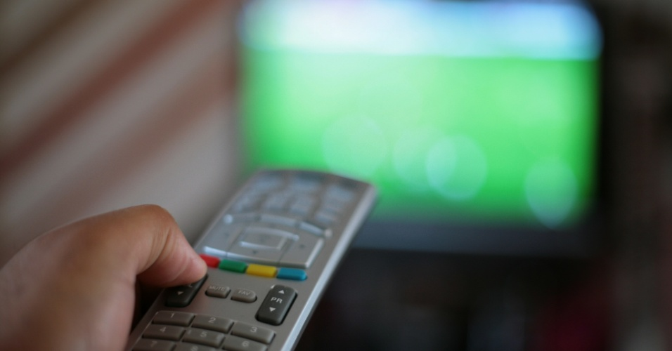 Televisão, TV, controle remoto
