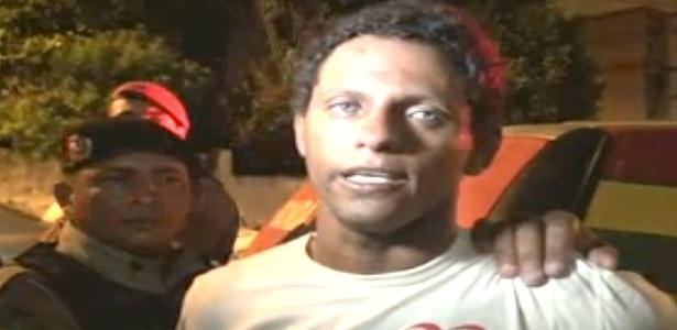 Rodrigo Fernandes de Sousa, 26, irmão do ex-goleiro Bruno, é suspeito de estupros - Reprodução - 11.set.2013/TV Meio Norte