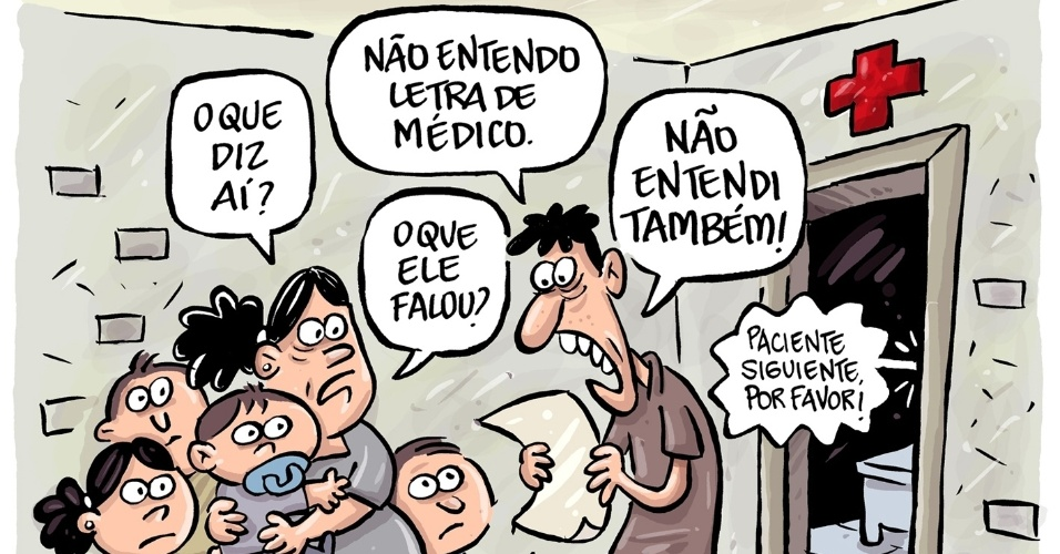 13.set.2013 - O cartunista Bruno Galvão aponta os possíveis problemas de comunicação entre a população e os médicos estrangeiros