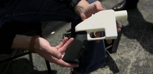 EUA estão discutindo a fabricação de armas por impressoras 3D