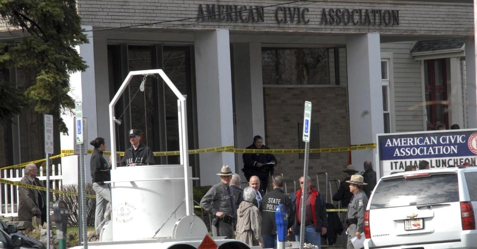 16.set.2013 - Abril de 2009: O vietnamita Jiverly Wong entrou no centro de imigração em Binghampton e abriu fogo, matando 13 peesoas, e depois se suicidou