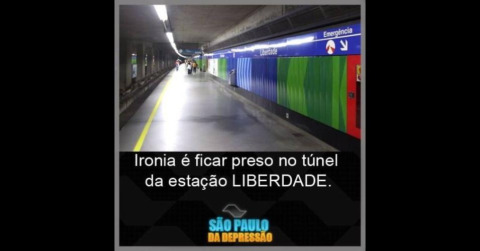 Frases De Brincadeiras Para Facebook: 'São Paulo Da Depressão': Página No Facebook Brinca Com