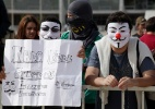 Manifestantes protestam em frente ao prédio do STF (Supremo Tribunal Federal) - Antonio Araujo/UOL