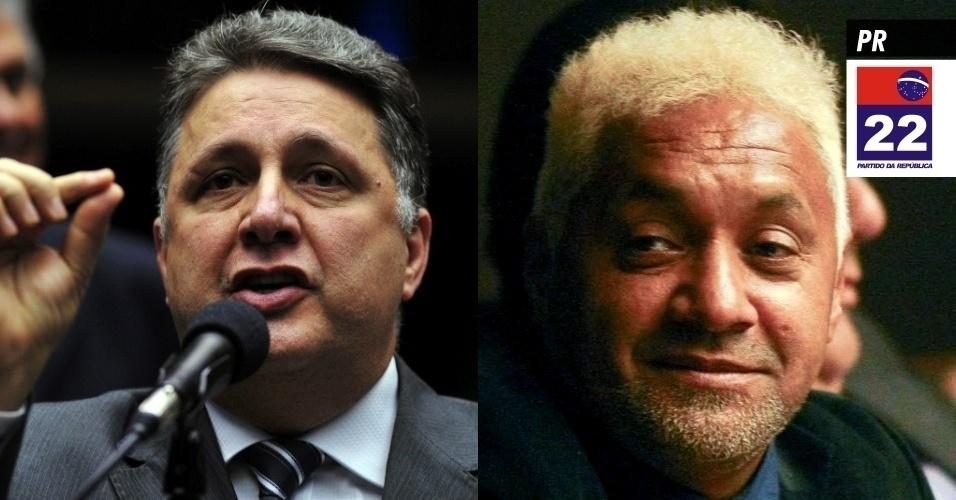 18.set.2013 - PR (Partido da República) - É presidido pelo senador Alfredo Nascimento (AM) e tem como membros os deputados federais Anthony Garotinho (RJ), que já foi candidato à Presidência em 2002, e Tiririca (SP), além do senador Blairo Maggi (MT), ex-governador do Mato Grosso. Surgiu da fusão do PL (Partido Liberal) e do Prona (Partido de Reedificação da Ordem Nacional), recebendo registro definitivo do TSE (Tribunal Superior Eleitoral) em novembro de 2006. Em 2012, recebeu do Fundo Partidário R$ 19,3 milhões