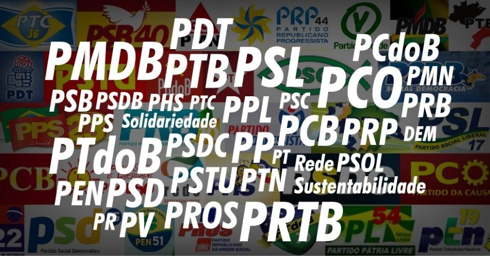 Chamadas Álbum Partidos Politicos 2013