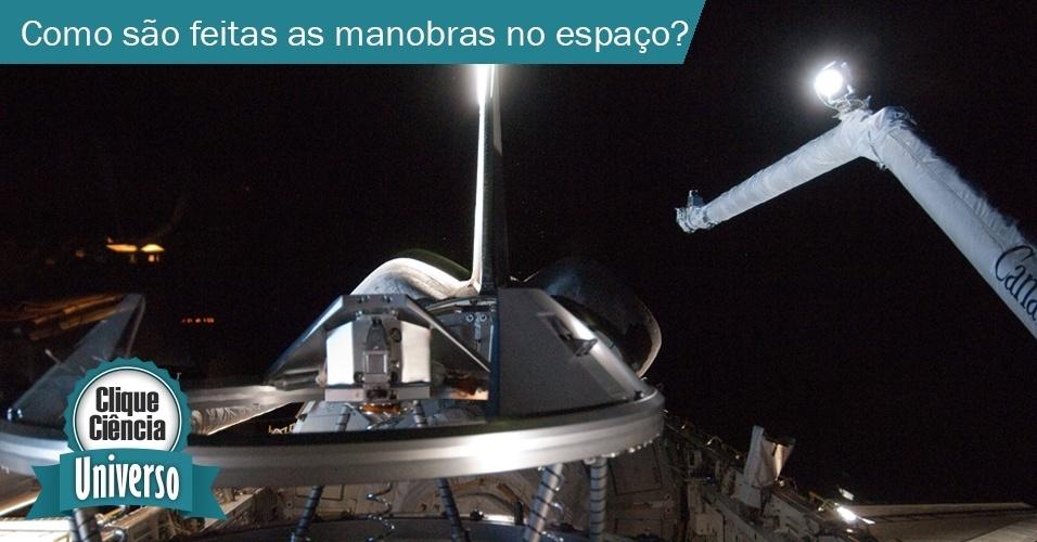 Como é feita a baliza espacial?