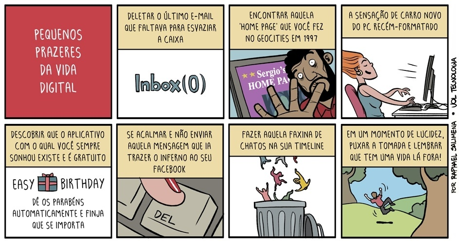 """""""Pequenos Prazeres da Vida Digital"""" - 20/09/2013"""