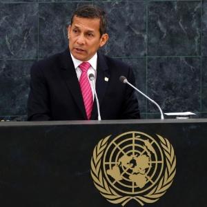 """""""Eu não vou indultá-lo e te digo isso de forma clara"""", disse o atual presidente do Peru, Ollanta Humala - Mike Segar/Reuters"""