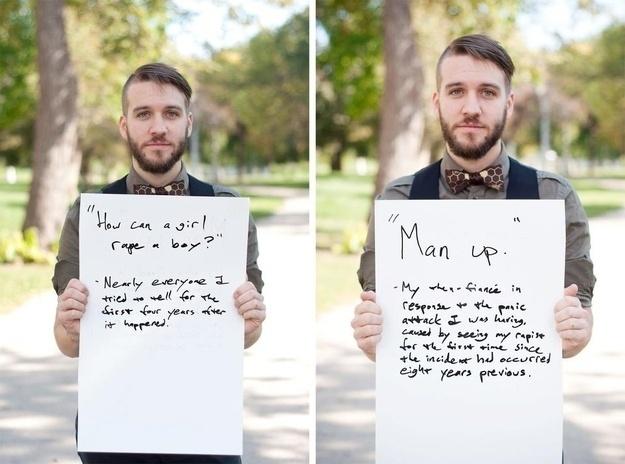 Homens Vítimas De Violência Sexual Revelam Frases De Agressores