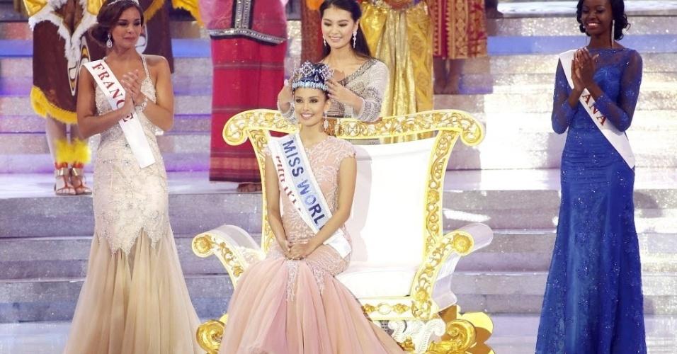 28.set.2013 - Após superar mais de cem candidatas, Miss Filipinas é escolhida como Miss Mundo 2013