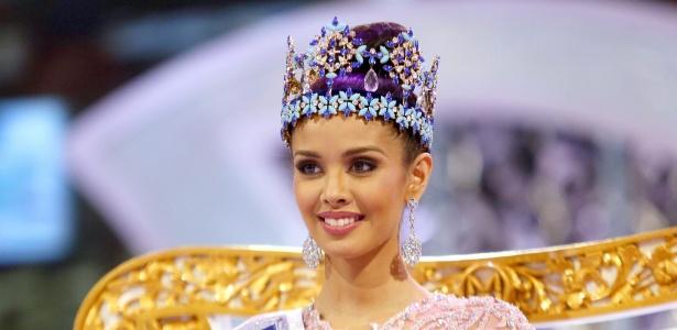 A Miss Filipinas, Megan Young, levou o título de Miss Mundo 2013 em concurso realizado na Indonésia - Efe/Epa/Made Nagi
