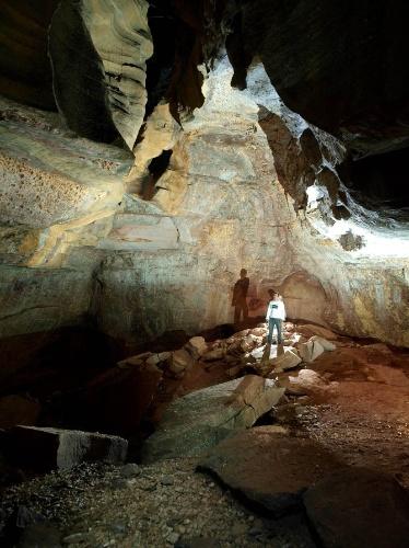 2.out.2013 - A representação de arte rupestre mais antiga da Serra da Capivara, no Piauí, tem 29 mil anos e os vestígios mais antigos da presença do homem datam de 50 mil anos atrás.