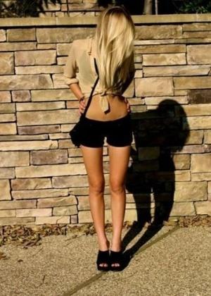 """Uma das últimas modas entre as adolescentes norte-americanas obcecadas com a perda de peso é o chamado """"thigh gap""""; ou seja, ter pernas tão finas que, mesmo posicionadas juntas, fica um espaço entre as coxas. Clique na foto acima e leia mais - Reprodução/Tumblr"""