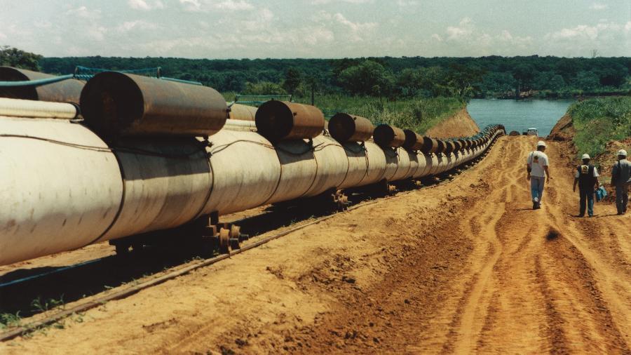 Importações envolverão um volume total de até 3 milhões de metros cúbicos/dia e o transporte será feito pelo trecho 1 do gasoduto Uruguaiana-Porto Alegre - Banco de Imagens da Petrobras